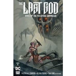 Last God (2019) #1 NM (9.4) Book One Of The Fellspyre Chronicles DC Black label