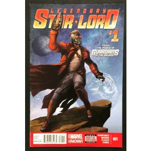 """Legendary Star-Lord (2014) #'s 1 2 3 4 5 Complete """"Face It, I Rule"""" Set"""
