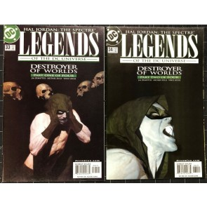 Legends of the DC Universe 1998 33-36 Destroyer of Wolds arc Hal Jordan Spectre