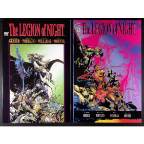 Legion of Night (1991) 1 2 complete set VF/NM Gerber Portacio Marvel horror