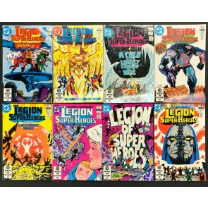 Legion of Super-Heroes (1980) 287-294 VF/NM Great Darkness Saga Darkseid 8 books