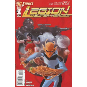 LEGION OF SUPER-HEROES (2011) #1 VF+ - VF/NM 2ND PRINTING THE NEW 52!