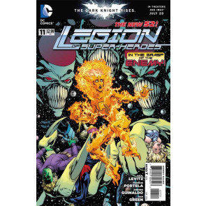 LEGION OF SUPER-HEROES (2011) #11 VF/NM THE NEW 52!