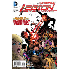LEGION OF SUPER-HEROES (2011) #12 VF/NM THE NEW 52!