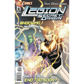 LEGION: SECRET ORIGIN (2011) #3 OF 6 VF/NM THE NEW 52!