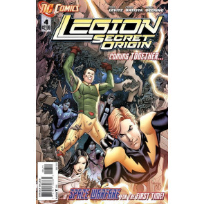 LEGION SECRET ORIGIN (2011) #4 VF/NM THE NEW 52!