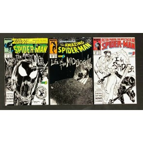 Life in the Mad Dog Ward (1987) Web 33 Amazing 295 Spectacular Spider-Man 133