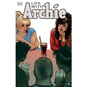 Life With Archie (2010) #36 VF/NM-NM Adam Hughes Variant Cover Death of Archie