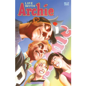 LIFE WITH ARCHIE (2010) #37 VF/NM ALEX ROSS VARIANT COVER DEATH OF ARCHIE