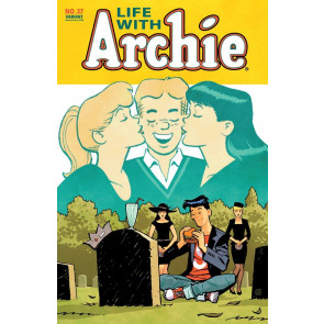 LIFE WITH ARCHIE (2010) #37 VF/NM CLIFF CHANG VARIANT COVER DEATH OF ARCHIE
