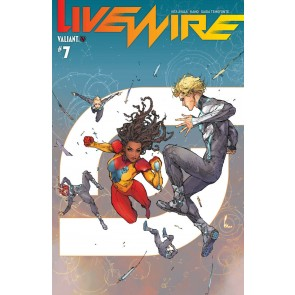 Livewire (2018) #7 VF/NM Kenneth Rocafort Cover Valiant