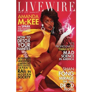 Livewire (2018) #12 VF/NM Kevin Wada Cover Valiant