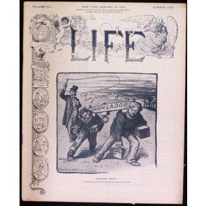 LIFE MAGAZINE #1055 JANUARY 15 1903