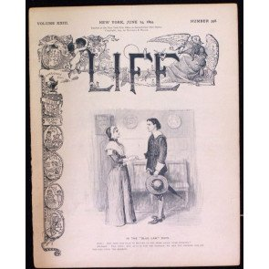 LIFE MAGAZINE #598 JUNE 14 1894