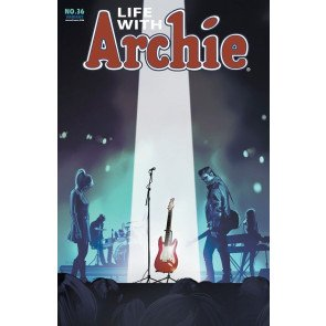 LIFE WITH ARCHIE (2010) #36 VF/NM FIONA STAPLES VARIANT COVER DEATH OF ARCHIE