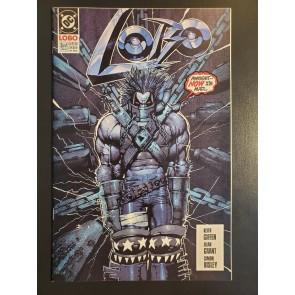 LOBO(1990) #3 NM/NM+ Mini series Giffen/Grant - Simon Bisley - Cover Art|