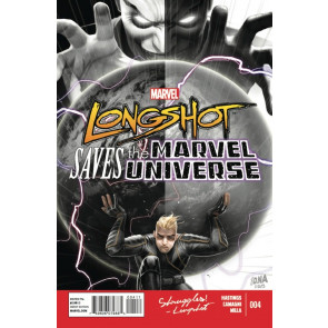 LONGSHOT SAVES THE MARVEL UNIVERSE #4 VF/NM