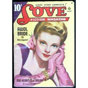 LOVE FICTION MAGAZINE VOLUME 42 #3 PULP 1944