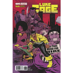 Luke Cage (2017) #166 VF/NM Connecting Variant Cover