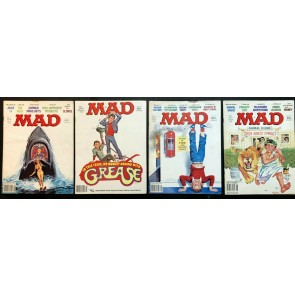 Mad Magazine (1952) #204-211 complete Year of 1979 January-December 8 issues