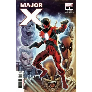 Major X (2019) #1 VF/NM-NM Liefeld First Appearance Dreadpool 1st Print
