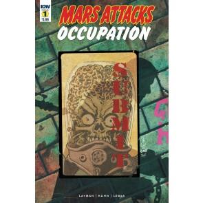 Mars Attacks: Occupation (2016) #1 VF/NM IDW
