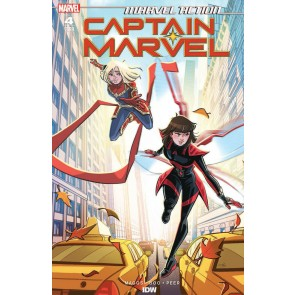 Marvel Action: Captain Marvel (2019) #4 VF/NM Sweeney Boo IDW Marvel