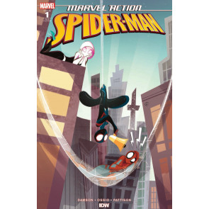 Marvel Action: Spider-Man (2018) #1 VF/NM 1:10 Nicoletta Baldari Variant Cover