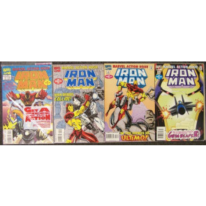MARVEL ACTION HOUR IRON MAN #'s 1, 2, 3, 4 NM 1994