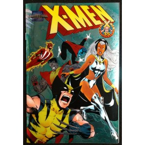 Marvel Collectible Classic - X-men (1998) #'s 1-6 Chromium Cover Variants Rare