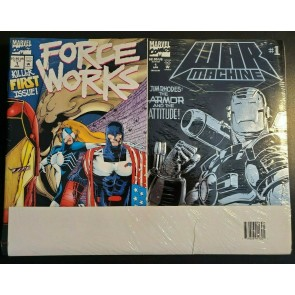 Marvel Comics Collector's Pack 18 Comics Sealed Pack late 1990's War Machine 1 