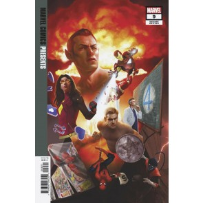 Marvel Comics Presents (2019) #9 VF/NM Rahzzah Variant Cover