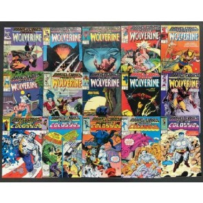 Marvel Comics Presents (1988) #'s 1-50 VF Set Wolverine Spidey X-men