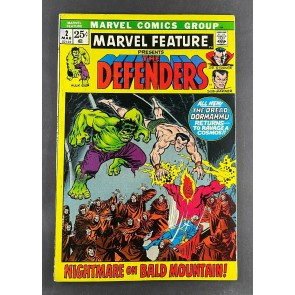 Marvel Feature (1971) #2 FN+ 2nd Appearance Defenders Ross Andru Art