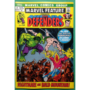 Marvel Feature (1971) #2 FN/VF (7.0) 2nd full app Defenders