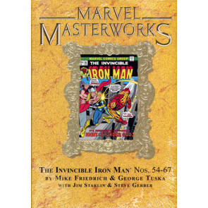 Marvel Masterworks: The Invincible Iron Volume #216 Gold Foil Variant Hardcover