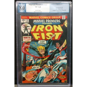 Marvel Premeire (1972) #15 PGX 8.0 Origin/1st Appearance Iron Fist (501143352)