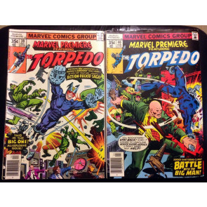 Marvel Premiere (1972) #39 & 40 two issue set featuring Torpedo