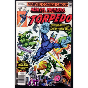 Marvel Premiere (1972) #39 FN+ (6.5) featuring Torpedo