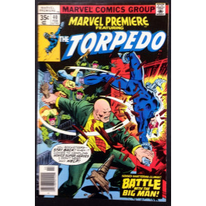 Marvel Premiere (1972) #40 VF+ (8.5) featuring Torpedo