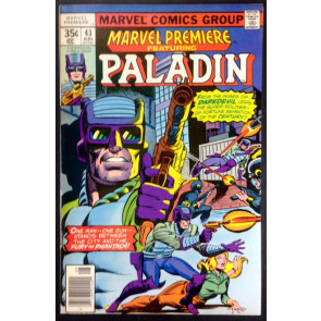 Marvel Premiere (1972) 43 VF (8.0) featuring Paladin