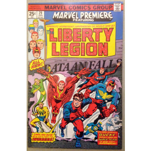 Marvel Premiere (1972) #29 FN/VF (7.0) featuring Liberty Legion