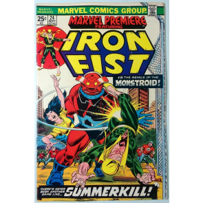 Marvel Premiere (1972) #24 FN- (5.5)  Iron Fist