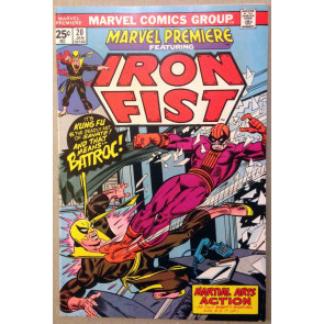 Marvel Premiere (1972) #20 FN/VF (7.0) featuring Iron Fist vs Batroc