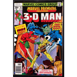 Marvel Premiere (1972) #36 FN (6.0) featuring 3-D Man