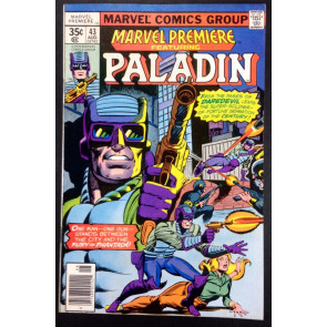 Marvel Premiere (1972) 43 VF- (7.5) featuring Paladin