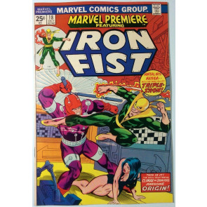 Marvel Premiere (1972) #18 VF+ (8.5)  Iron Fist