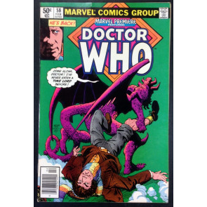 Marvel Premiere (1972) 58 FN+ (6.5) featuring Doctor Who part 2 of 4