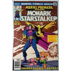 Marvel Premiere (1972) #32 FN+ (6.5)  Monark Starstalker