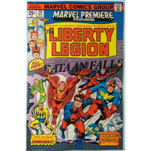 Marvel Premiere (1972) #29 VF- (7.5)  Liberty Legion